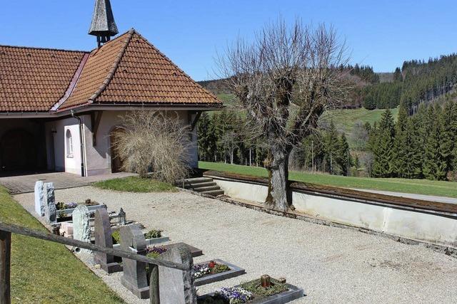 Platz für Urnengräber