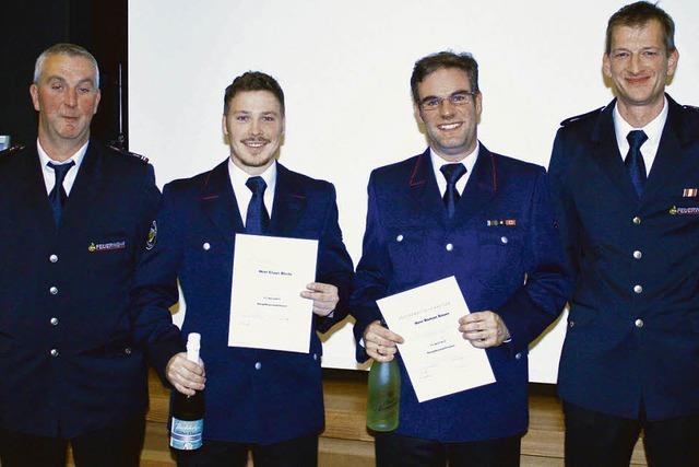 Ruhiges Jahr für die Wittnauer Feuerwehr