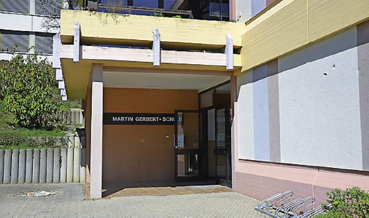 Martin-Gerbert-Schule: Barrierefreier Umbau ist geplant.  | Foto: Nikola Vogt
