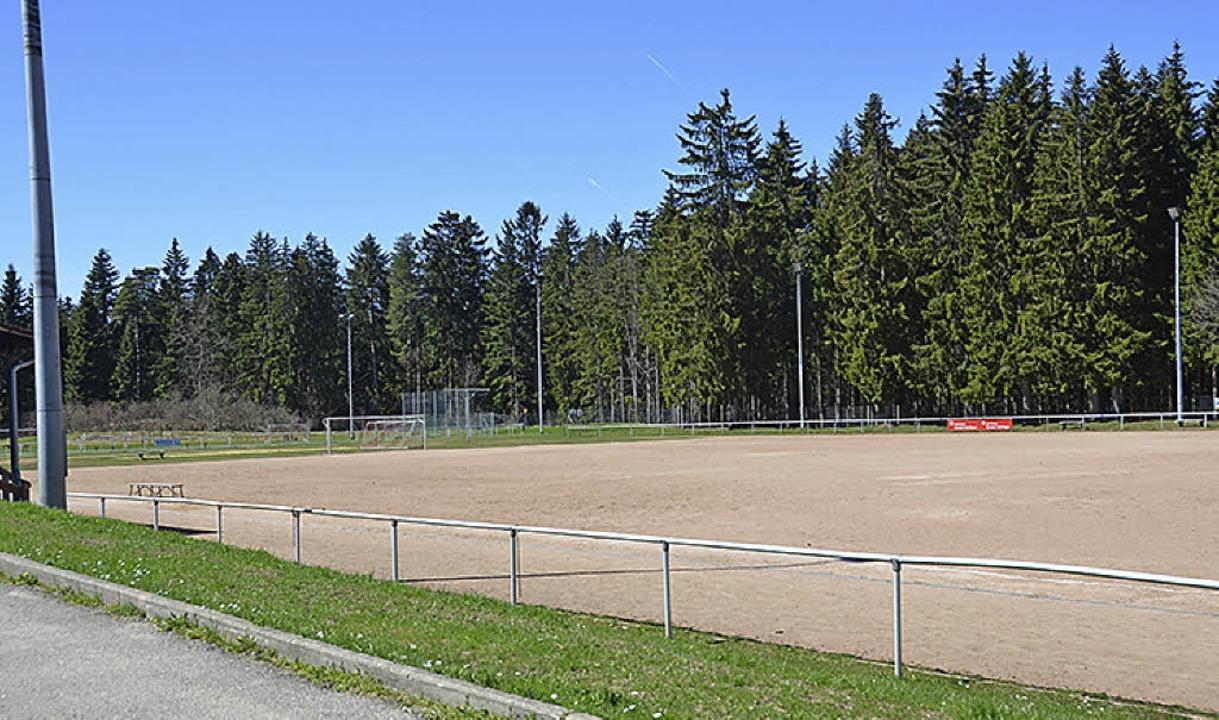 Sportplatzumbau: Baustart ist am 18. Mai.   | Foto: Nikola Vogt