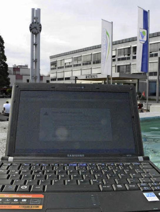 Keine Verbindung ins Internet auf Weil...nt der Verein Freifunk Dreiländereck.   | Foto: Lauber