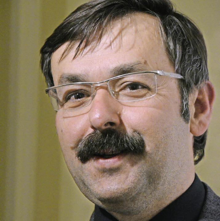 Will Bürgermeister in Wittlingen bleiben: Michael Herr   | Foto: M. Maier