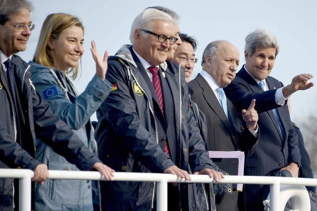 Das offene Gespräch ist das Ziel beim G-7-Gipfel