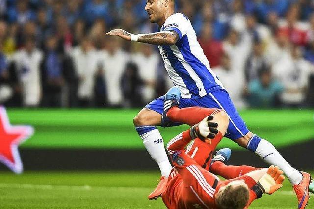 Der FC Bayern München gerät gegen Porto schwer aus der Spur