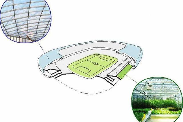 Warum ein Freiburger eine Farm auf dem Dach des neuen SC-Stadions betreiben will