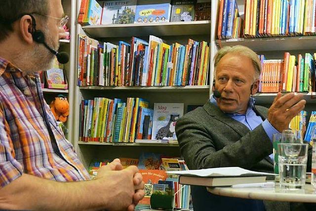 Trittin in der Buchhandlung Müller: Keine Angst vor Unbeliebtheit