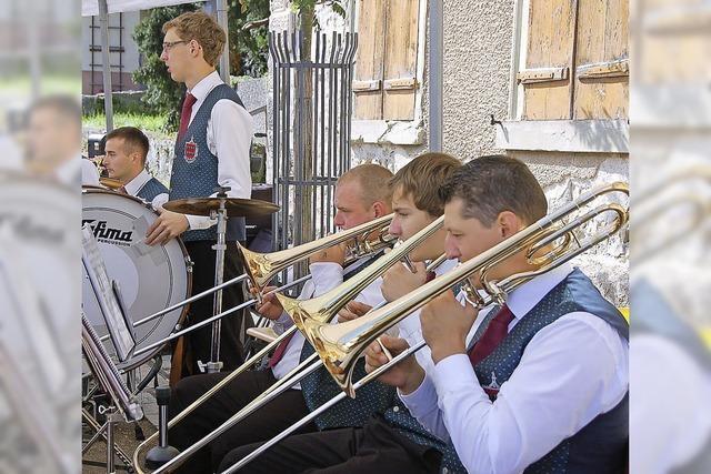 Konzert der Musikvereine Blumegg und Ober- und Unterwangen in Stühlingen