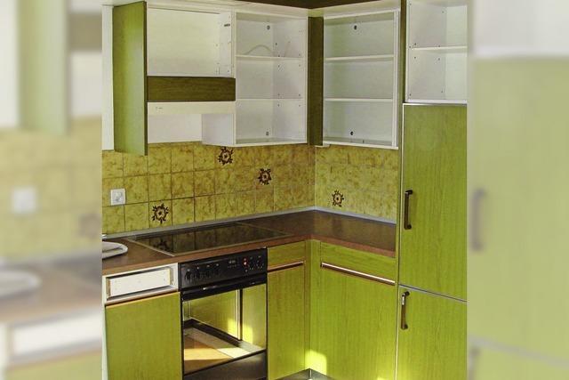 Neue und frische Ausstattung für alte Küche