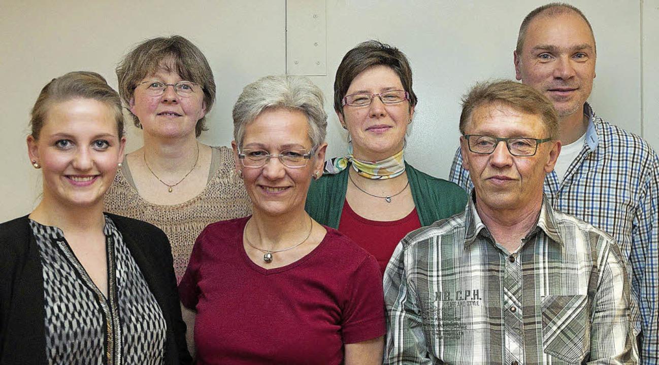 Der Vorstand des Akkordeonclubs: Karin...smer und Reiner Ringwald (von links).   | Foto: Rothermel