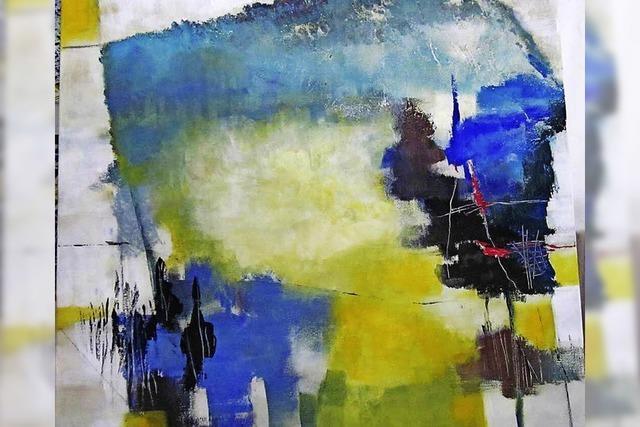 Werke von Katharina Halatsch in der Kirchzarter Rainhof Scheune