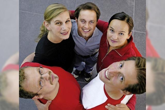 Theaterwettbewerb Basel gegen Stuttgart im Basler Borromäum