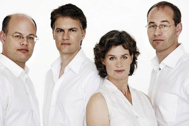 Das Mandelring-Quartett eröffnet die Saison der Bonndorfer Schlosskonzerte