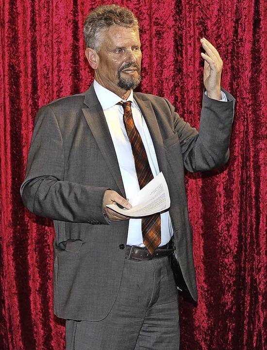 Viel Aufmerksamkeit fand Gernot Erler ...se und die Rolle Putins in Russlands.   | Foto: mario schöneberg