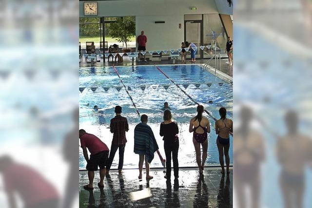 Schwimmer kämpfen um Vereinstitel