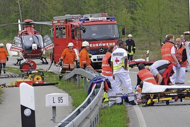 51-jährige Autofahrerin tödlich verletzt