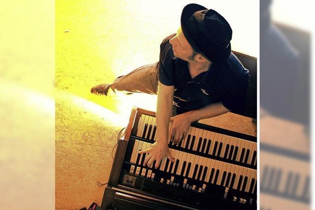 Bluespianist Ludwig Seuss im Bonndorfer Paulinerheim