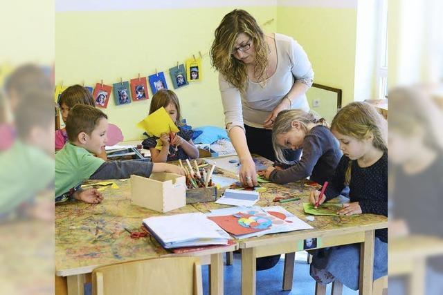In der Kita Immergrün lernen Kindergartenkinder jetzt Türkisch