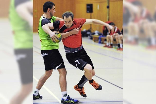 Handballer biegen auf Zielgerade ein
