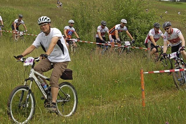 16 Kilometer für Mountainbiker