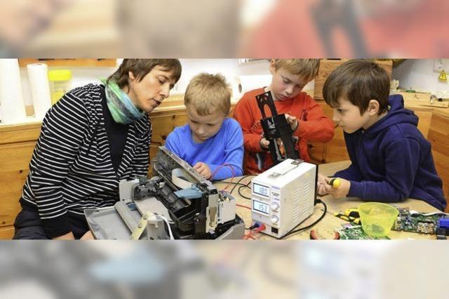 Im evangelische Kindergarten in Tiengen wird Sprachförderung als Erziehungsschwerpunkt getestet
