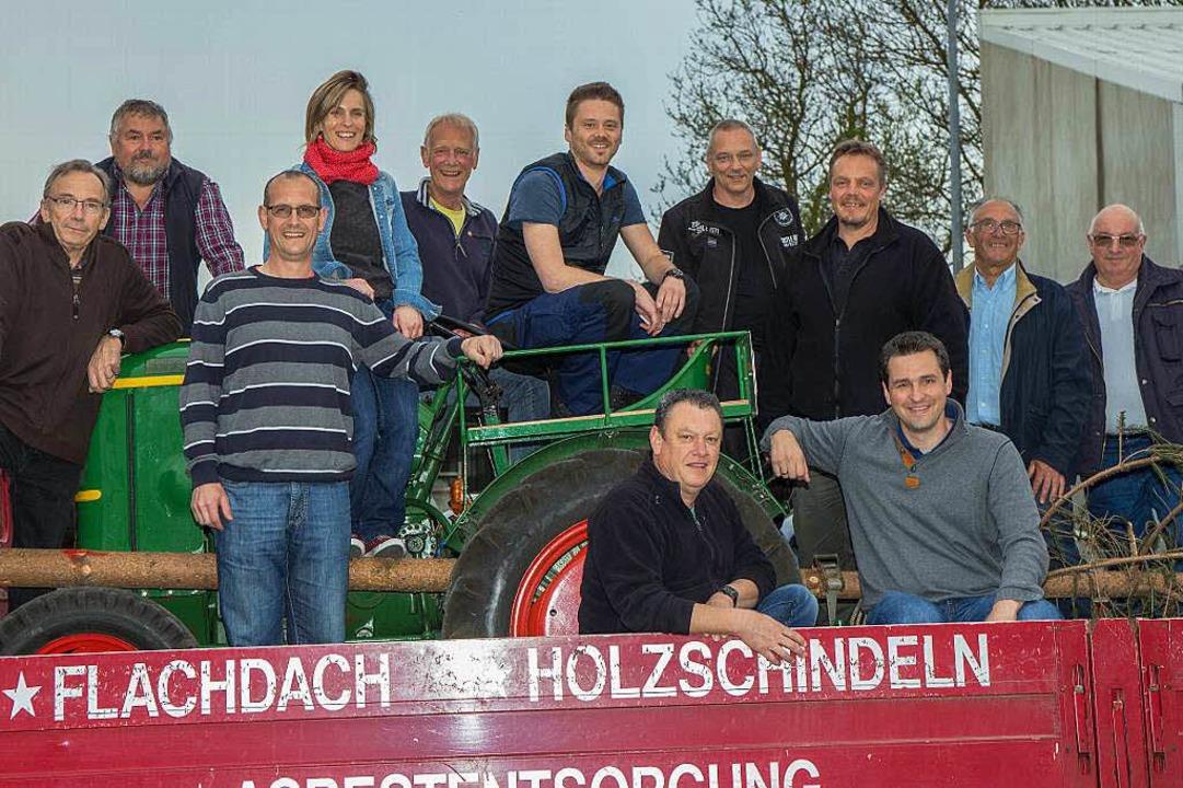 Herzlicher Empfang in Machecoul: Nach ...ergemeinde heil und gesund angekommen.  | Foto: Wilfried Dieckmann