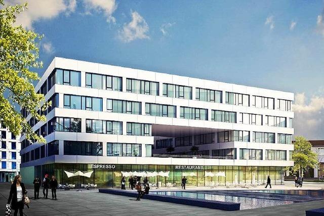 Bau des Büroquartiers an der Heinrich-von-Stephan-Straße beginnt