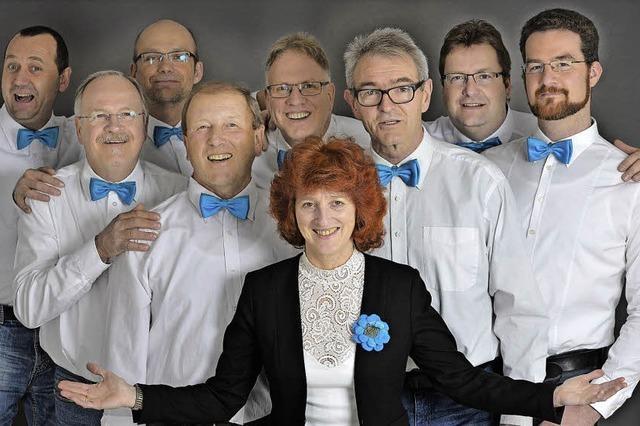 Die Gruppe Vokalisatoren treten in Nimburg auf