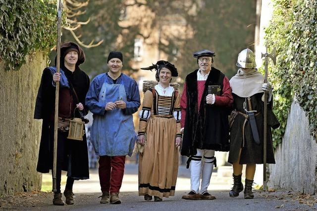Mittelalterführung mit des Torwächters Weib in Waldkirch