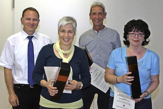Auszeichnungen für Blutspender