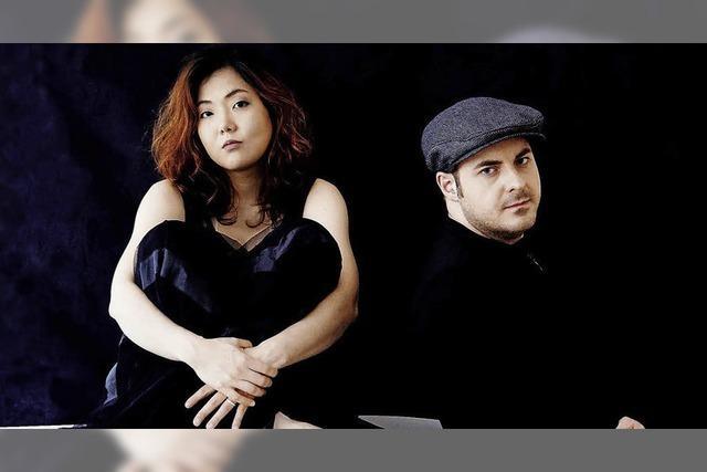 Klavierduo Chie Tsuyuki und Michael Rosenboom im Gutshof Günter in Sulzburg-Laufen