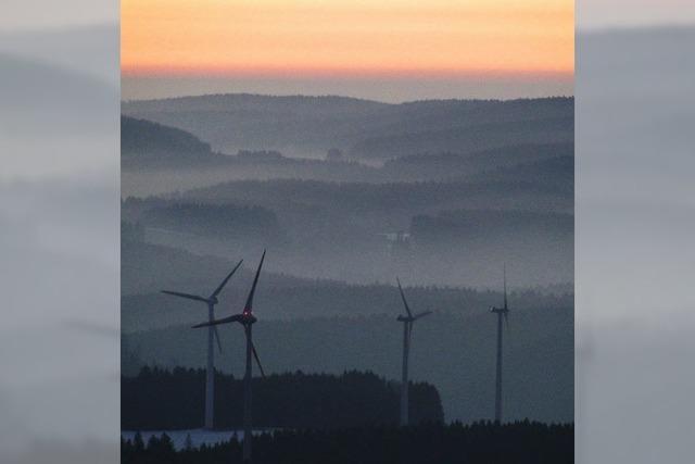 Viel Wind um die Windkraft