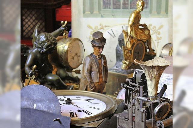 Antike Uhrenbörse in Eisenbach