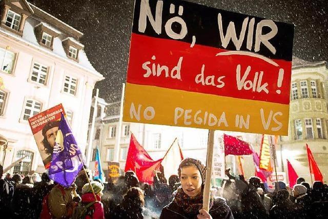 Pegida darf am Sonntag in Villingen-Schwenningen demonstrieren