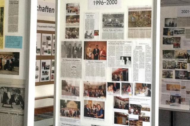 25 Jahre Partnerschaft in buntem Mix von Bildern und Artikeln