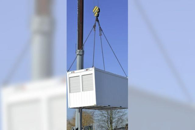 Glottertal hat Container für Flüchtlinge abgebaut