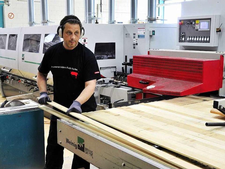 Spiegelhalter Holzleisten  | Foto: Thomas Kunz