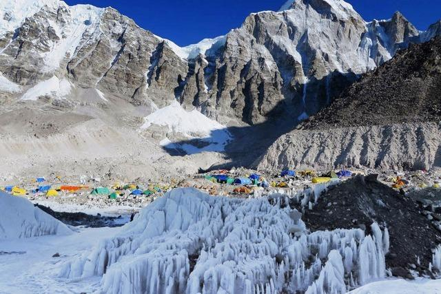 Wieder Andrang am Everest