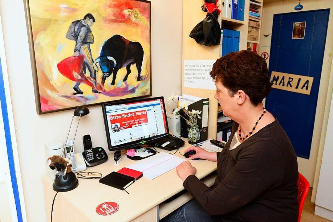 Monika Beislers Leben dreht sich um die Suche nach ihrer Tochter.  | Foto: Ingo Schneider