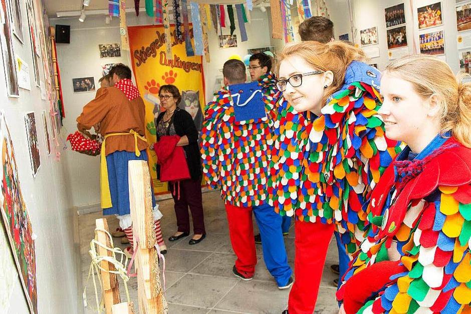Narrenausstellung in der Touristinfo (Foto: Wilfried Dieckmann)