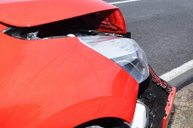 Auffahrunfall mit einer Leichtverletzten