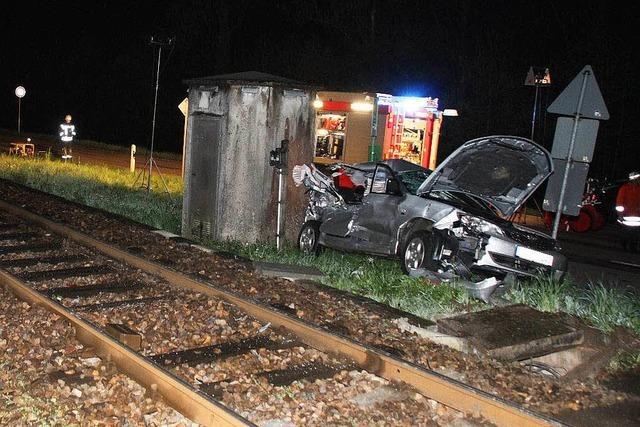 Kollision mit Zug bei Furschenbach: Zweite Tochter gestorben