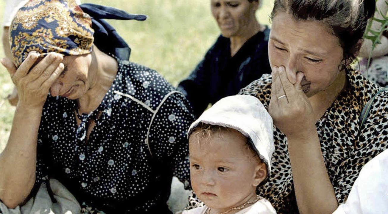 Unendlich viel Leid haben Frauen und K...a Prpic hat versucht, ihnen zu helfen   | Foto: dpa