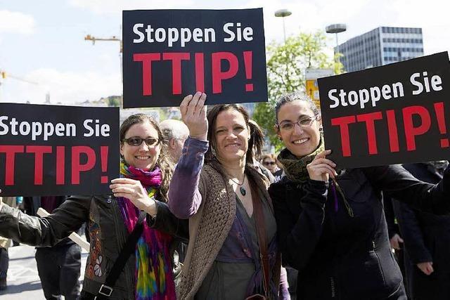 Tausende demonstrieren im Südwesten gegen TTIP
