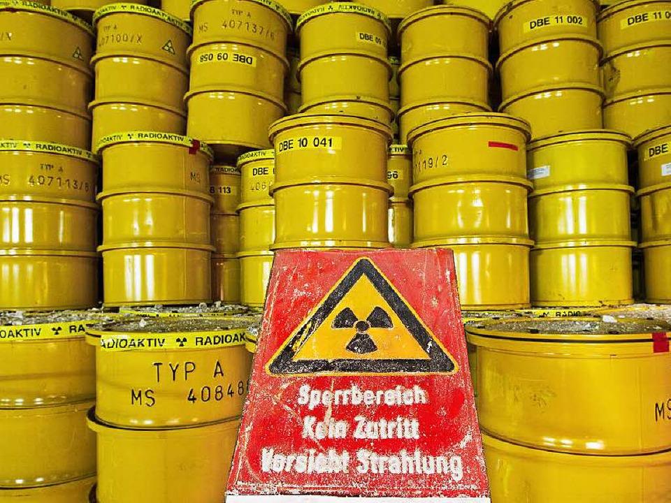 Wohin mit dem Atommüll?  | Foto: dpa