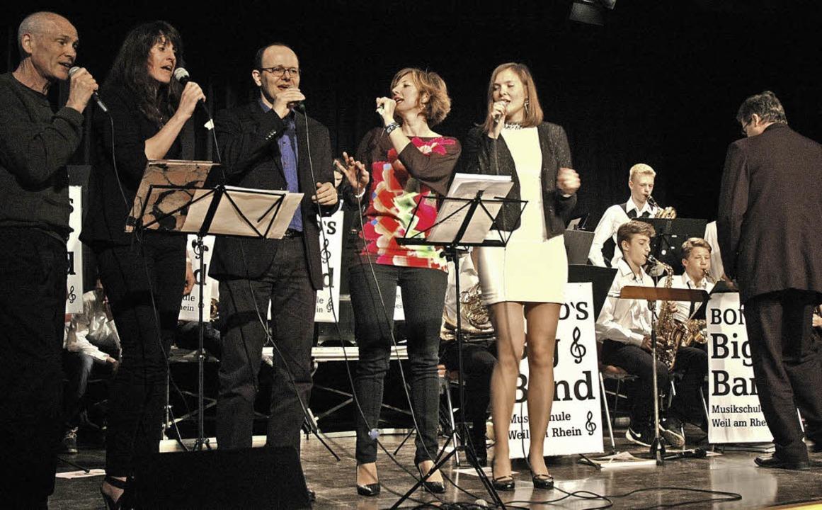 Gemeinsames Konzert der Musikschulen H...des Konzert im Haus der Volksbildung.   | Foto: Ounas-Kräusel