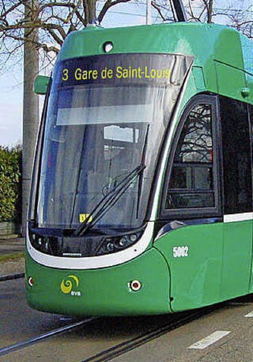 Endstation des 3ers ist künftig der Bahnhof Saint-Louis.   | Foto: ZVG