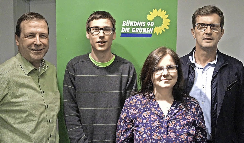Grünen-Landtagsabgeordneter Thomas Mar...far und Kreisvorsitzender Alfred Baum     Foto: christine storck