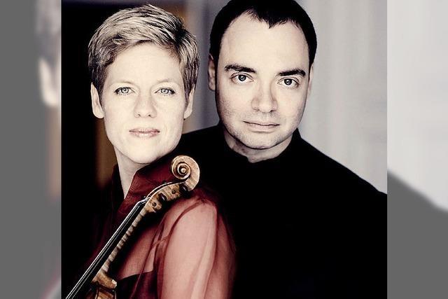 Isabelle Faust und Alexander Melnikov bei den Musiktagen in Badenweiler