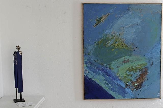 Kunst in der Galerie