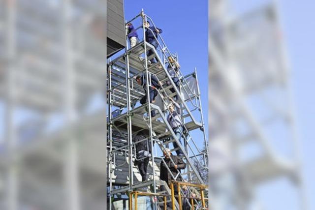 Stadträte nehmen Baustelle unter die Lupe